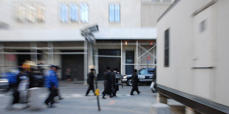 Satmar Hasidic Jews in New York City